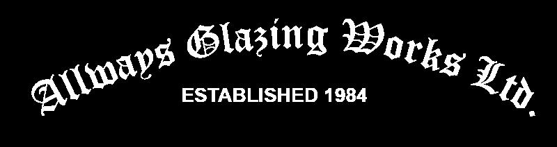 Always Glazing white hero logo